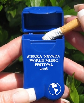 Sierra Nevada World Music Festival's Personal Ashtrays