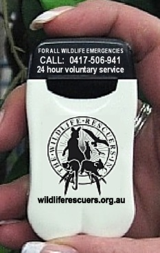 Wildlife Rescuers Personal Ashtray & Butt Bin