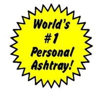 No BuTTs Personal/Pocket Ashtrays are the world's best selling Portable Ashtray - by far!