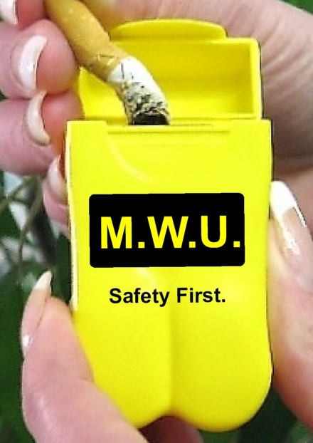 MWU Personal Ashtrays
