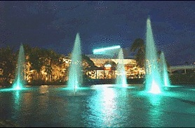 Arts Centre Gold Coast at night