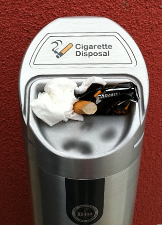 This can't happen with an Eco-Pole Ashtray