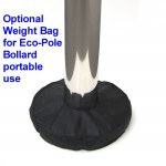 Eco-Pole Bollard - Weight Bag - Portable Mode