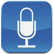 Quick-Voice Recorder App is supplied with your iPhone or can be downloaded free from the App Store.