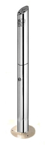 No BuTTs new enhanced Eco-Pole Freestanding Bollard Ashtray