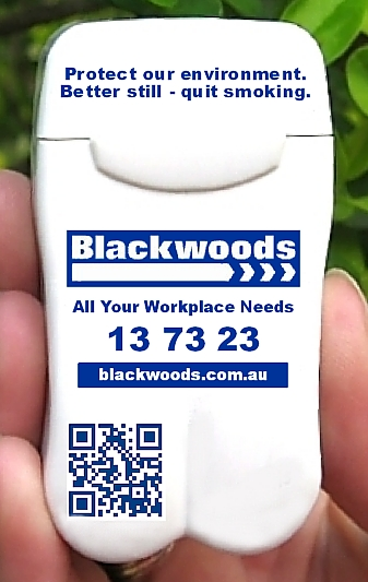 Blackwoods Branded Personal Ashtray