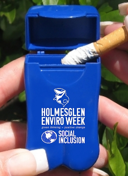 Holmesglen TAFE's Branded Personal Ashtrays