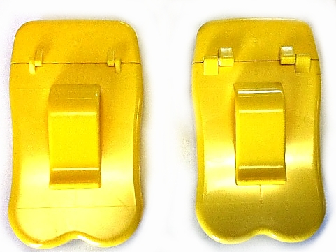 Personal Ashtrays from No BuTTs have been upgraded with larger hinges. 