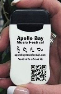 Apollo Bay Music Festival Personal Ashtray