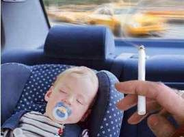 Smoking in Vehicles with Children is illegal.