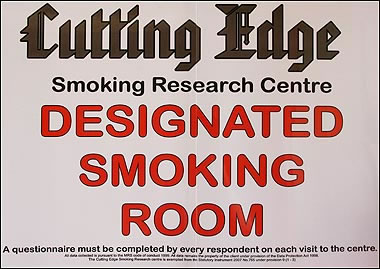 Designated Smoking Room