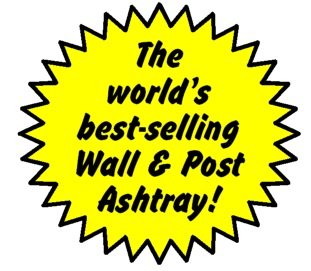 Eco-Pole Ashtrays are the world's best selling wall & post ashtrays.