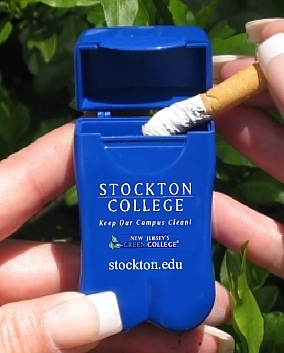Stockton College's Pocket Ashtray - New Jersey USA