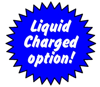 Can be liquid charged for 100% guaranteed instant butt extinguishing
