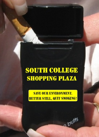 South College Shop's Personal Ashtrays
